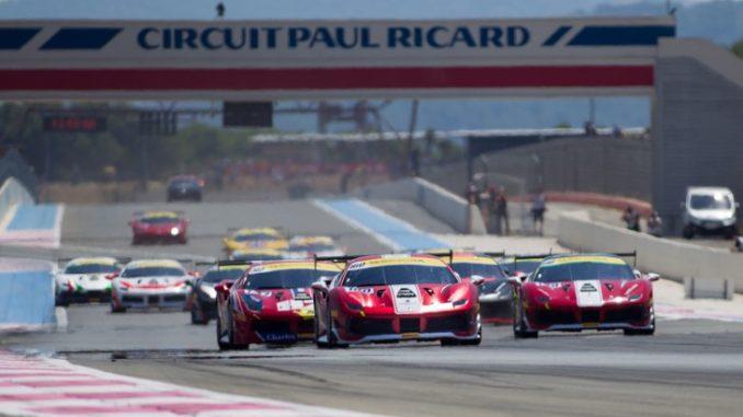 Die Ferrarri-Challenge auf dem Circuit Paul Ricard