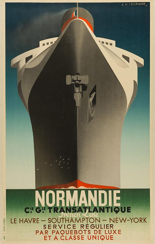 Art Déco Plakatkunst von Cassandre: Normandie