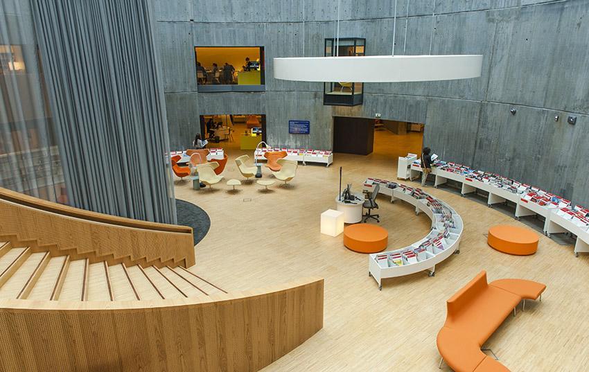 Die Mediathek von Le Havre. Foto: Hilke Maunder
