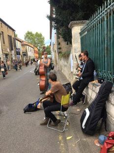 F_Marciac_Jazz in Marciac_Straßenmusik_1_credits_Hilke Maunder