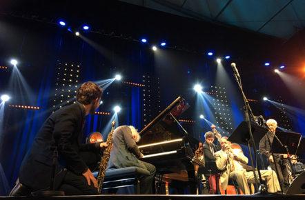 F_Marciac_Jazz in Marciac_Wynton Marsalis_Joachim Kühn_Emile Parisien_1_credits_Hilke Maunder