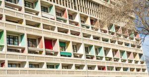F_Marseille_Cité Radieuse_Balkone_©Hilke Maunder