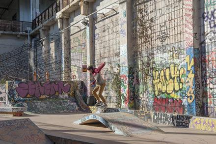 F_Marseille_Friche Belle-de-Mai-Skaterpark_Skater_©Hilke Maunder
