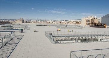 F_Marseille_Friche Belle-de-Mai_Dachterrasse_Blick©Hilke Maunder