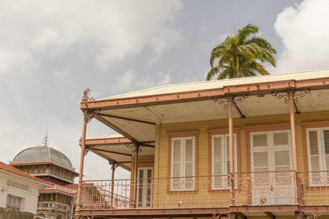 F_Martinique_Fort-de-France_Bibliotheque Schoelcher_ Ableger Rue Victor Severe_2_credit_Hilke Maunder
