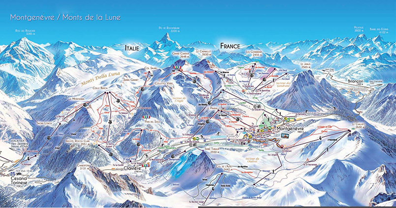 Frankreichs lteste skistation montgen vre mein frankreich - Montgenevre office de tourisme ...