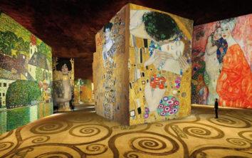 F_Paris_Atelier des Lumieres_Klimt_1_credits_Culturespaces_Pressebild