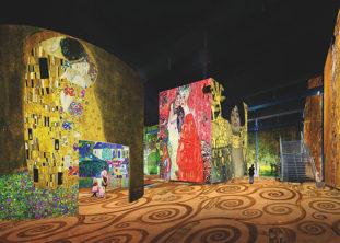 F_Paris_Atelier des Lumieres_Klimt_2_credits_Culturespaces_Pressebild