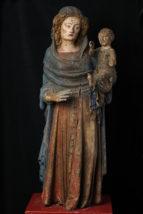 F_Perpignan_Musee Hyacinthe Rigaud_ANONYM_ Vierge de la rue de l'Ange