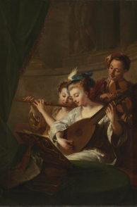 F_Perpignan_Musee Hyacinthe Rigaud_TROY Le concert ou l'Accord parfait