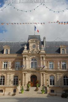 /F/Picardie/Somme/Amiens: Hôtel de Ville (Rathaus)