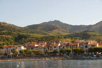 F/Languedoc-Roussillon/Collioure: Blick zur Tour Madeloc