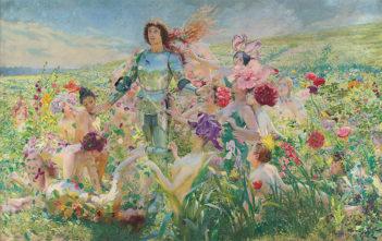 Der Blumenritter (Richard Wagner, Parsifal)
