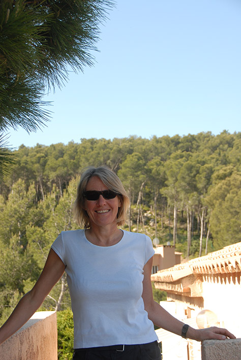 Saint-Cyr: auf der Terrasse Foto: Hilke Maunder