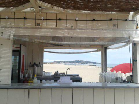 Am Strand von Sète. Foto: Johanna Huda