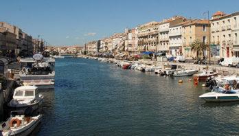 F/Hérault: Sète, Hauptkanal