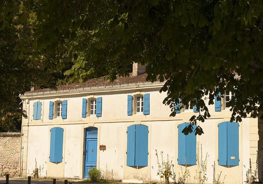 Talmont-sur-Gironde: Das alte Zollhaus birgt heute Gästezimmer. Foto: Hilke Maunder