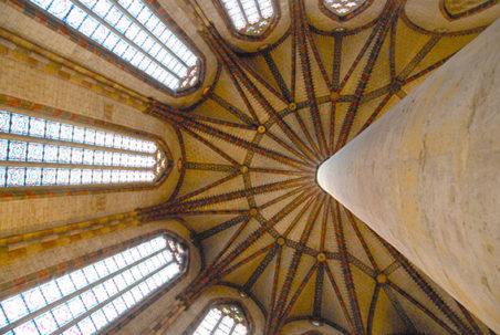 F_Toulouse_Église des Jacobins_Palmgewölbe_1©Hilke Maunder