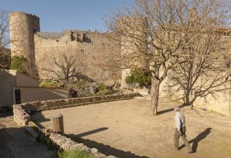 F_Villerouge-Termenès_Château_Katharer_Boule_©Hilke Maunder