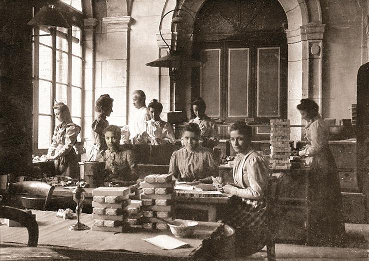 Anis de Flavigny, historische Aufnahme. Foto: Anis de Flavigny